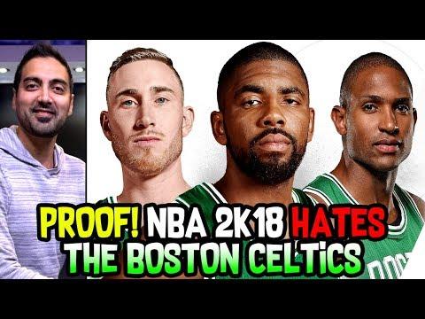 PROOF THAT NBA 2K18 HATES THE BOSTON CELTICS!
