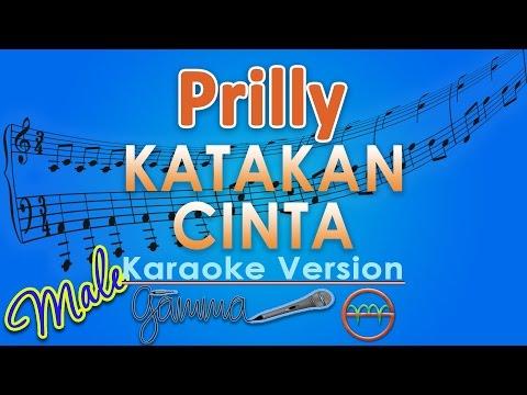 Prilly Latuconsina - Katakan Cinta MALE (Karaoke Lirik Tanpa Vokal) by GMusic