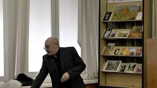 Творческая встреча с библиотекарем, писателем и поэтом Иваном Мачехиным в Пятигорской библиотеке