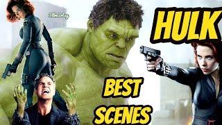 HULK - All Best Scenes From Avengers-1 to Avengers: Infinity War