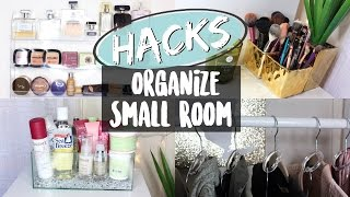 HACKS To Organize A Small Room | NYC Apartment