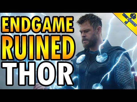 How Marvel Redeemed Thor... and then Endgame Ruined Him
