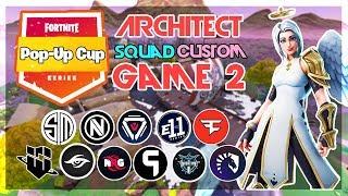 Architect Pop-Up 🥊Squad Customs🥊 Game 2 (Fortnite)