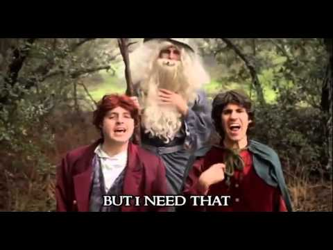 The Hobbit - ONE RING (One Direction 'One Thing' Parody) 1 hour version from The warp zone