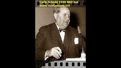 Carlo Schmid BRD hat keine Verfassung