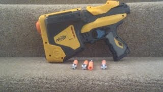 Nerf Dart Tag SpeedLoad 6 (Blue Trigger) Range Test