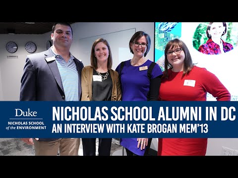 Join the Nicholas School Alumni Network in DC