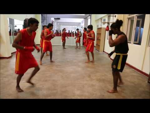 Sanda Training - Srilanka National Wushu Academy