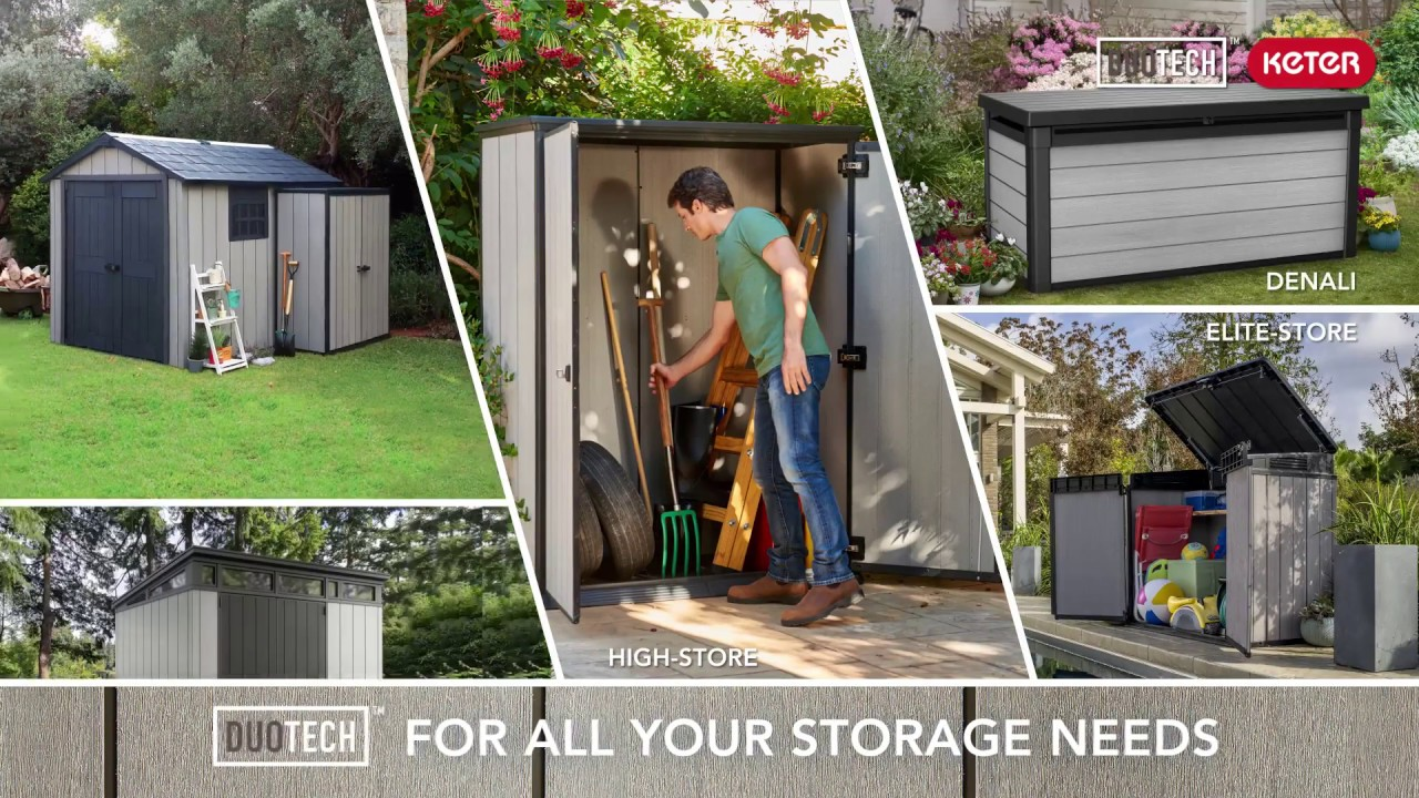 Keter High Store All Your Storge Needs Duotech Sheds Keter