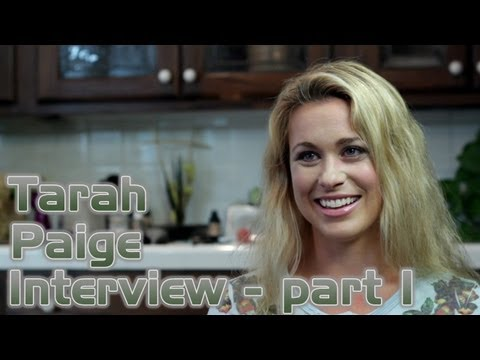 Tarah Paige Interview - Star Trek Renegades - Part 1