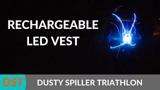 VIZYVEST REVIEW | Rechargeable LED Running Vest