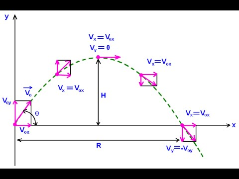 Projectile Motion lecture 1 1st year physics by sheikh academy