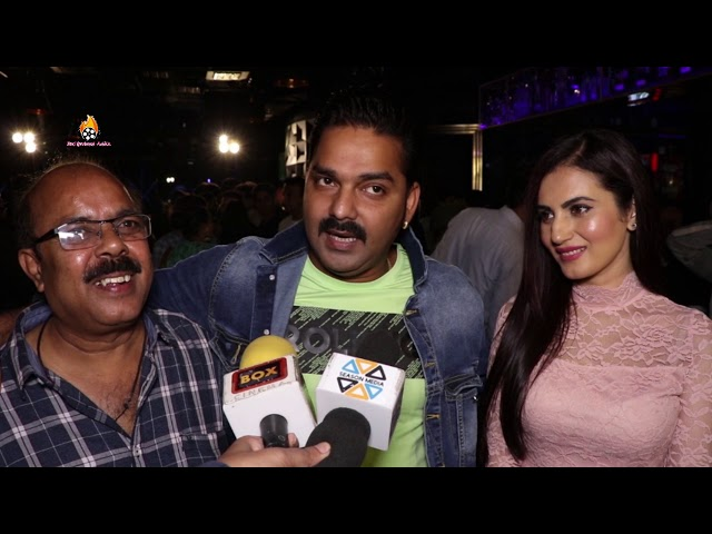 Bhojpuri Superstar Pawan Singh Grand Entry Film Music & Trailer Launch ''O' Pushpa I Hate tears''