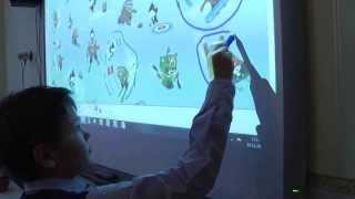 Интерактивная доска  на уроке английского языка СЗШ №2 Токмак Запорожская область.(Відкритий урок з англійської мови з використанням інтерактивної дошки Smart Board