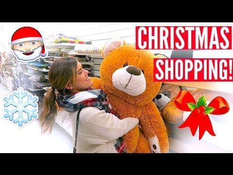 CHRISTMAS SHOPPING!! VLOGMAS DAY 1 & 2!