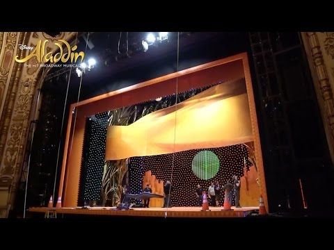 ALADDIN on Tour — Load-In Time Lapse