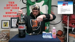 The Human Diet Coke & Mentos Experiment (ft. Crystal Pepsi Release News) | L.A. BEAST