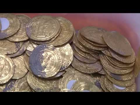 The Largest Hoard of Gold Coins Ever Found