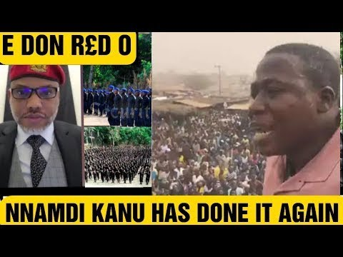 A MUST WATCH: NNAMDI KANU SUPPORTS SUNDAY IGBOHO AND SEND STR0NG MESSAGE TO YORUBA NATION