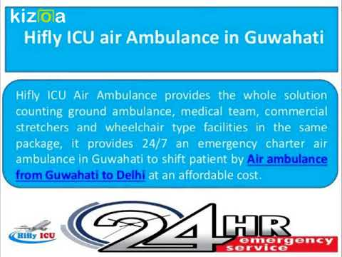 Emerghency Facilities with Doctors Team by Hifly ICU Air Ambulance from Kolkata to Delhi