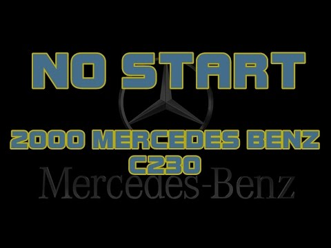 ⭐ 2000 Mercedes Benz C230 - Cranks But Does Not Start
