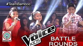 "The Voice Kids Philippines 2015 Battle Performance: ""Your Love"" by Kate, Paul, and Elha"