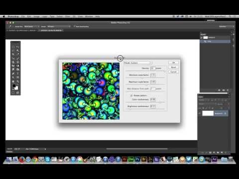 Photoshop CC : Gradients And Pattern Fills (random Fill)