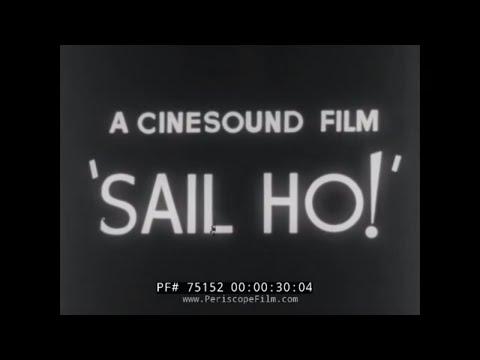 SAILING SHIPS IN AUSTRALIA 1950s NEWSREEL 75152