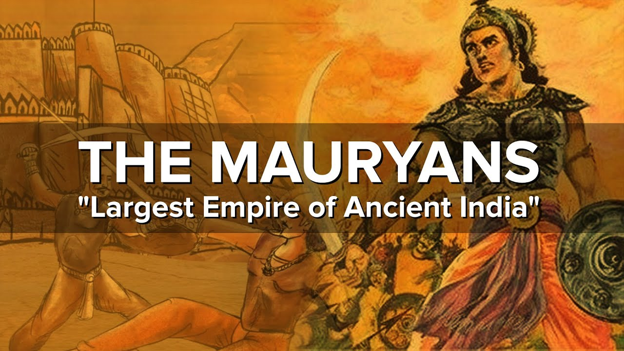 Download The Largest Empire of Ancient India   Mauryan Empire
