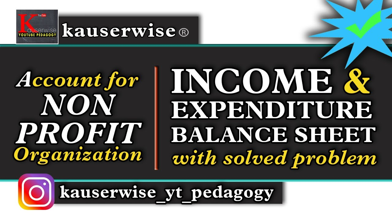 income and expenditure a c balance sheet with solved problem by