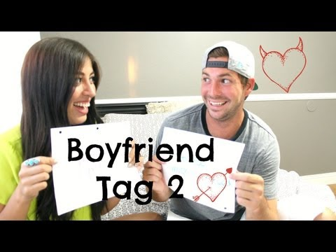 Boyfriend Tag 2: Newlywed Game Style Edition!!