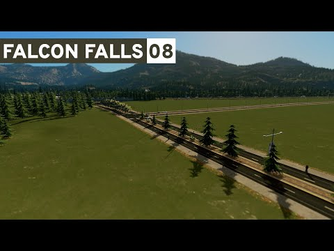 Network Expansion! - Cities Skylines: Falcon Falls - Part 8 -