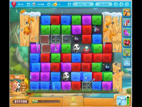 Pet rescue saga island of pets level 4 1 star no boosters for Pet island level 4