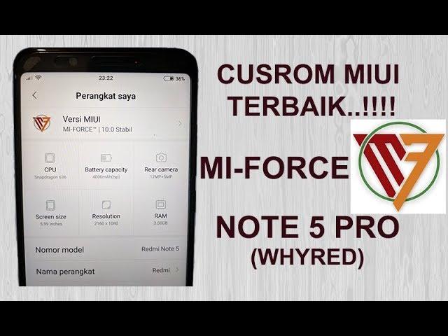 Download Lagu Mantul Install Review Rom Mi Force Pada Redmi