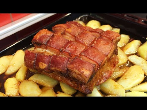 Carsko meso iz pećnice - Slow-Roasted Pork Belly