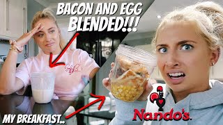 i LIQUIDISED all my FOOD for 24hours!! *blending challenge*