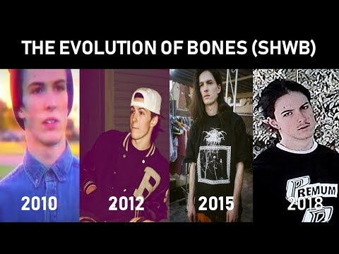 The Evolution of BONES (TeamSesh)! (First Song Ever - Present) @TeamSESH