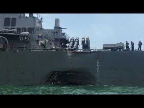 Systemic problems to blame for another US warship collision?