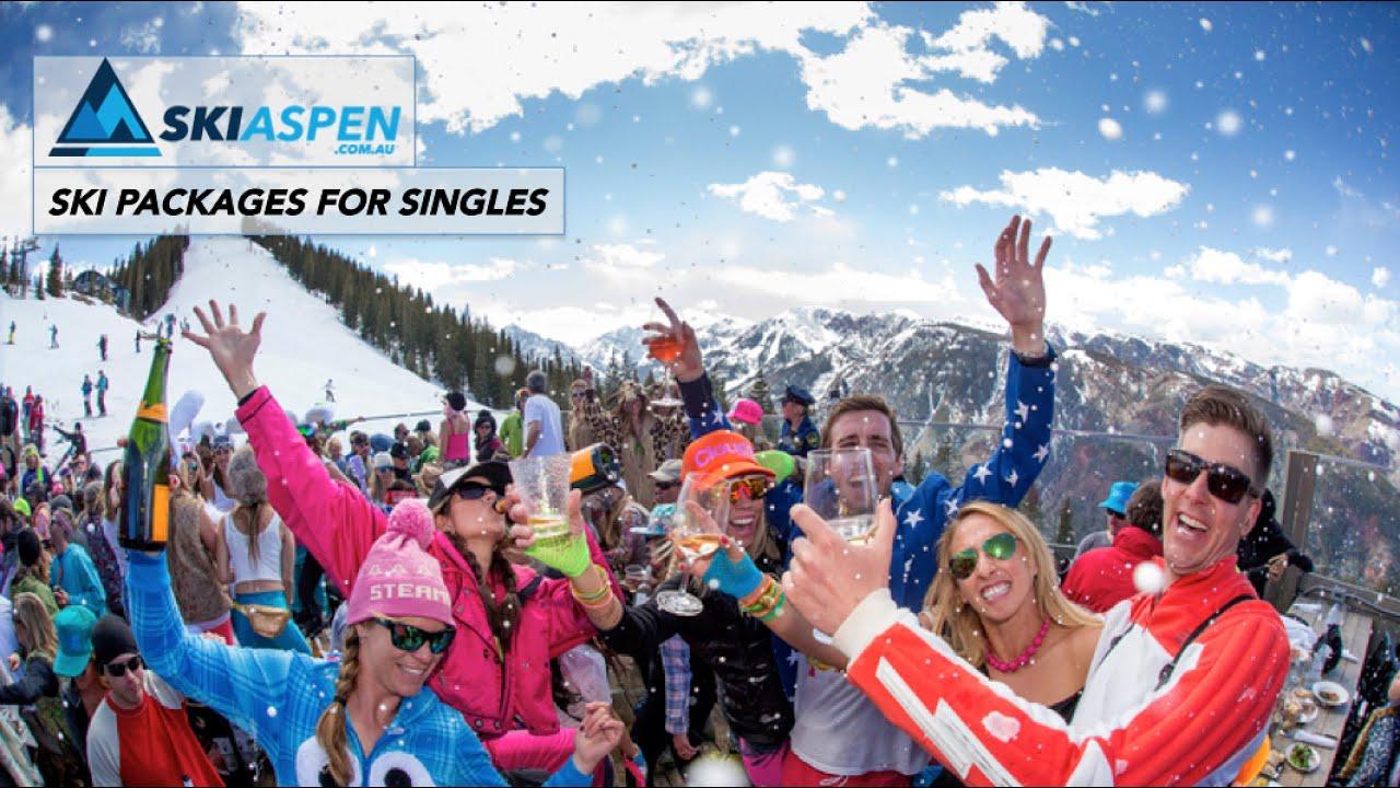 Naked Skiier Cloud 9 Aspen Highlands - YouTube