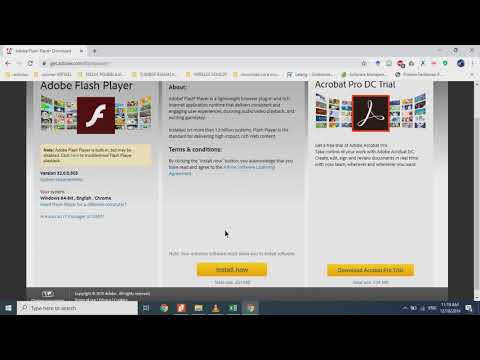 #adobe Flash Player #free #download For #windows 10