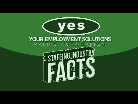 Staffing Industry Facts | Job Training