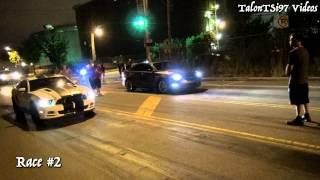 Taurus SHO vs. Mustang GT Dig Racing