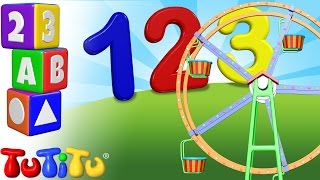 TuTiTu Preschool | 123 Ferris Wheel | Learning Numbers for Toddlers | Learn to Count 1-10