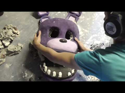 Real Hand crafted Withered Bonnie Prop from five nights at freddys series