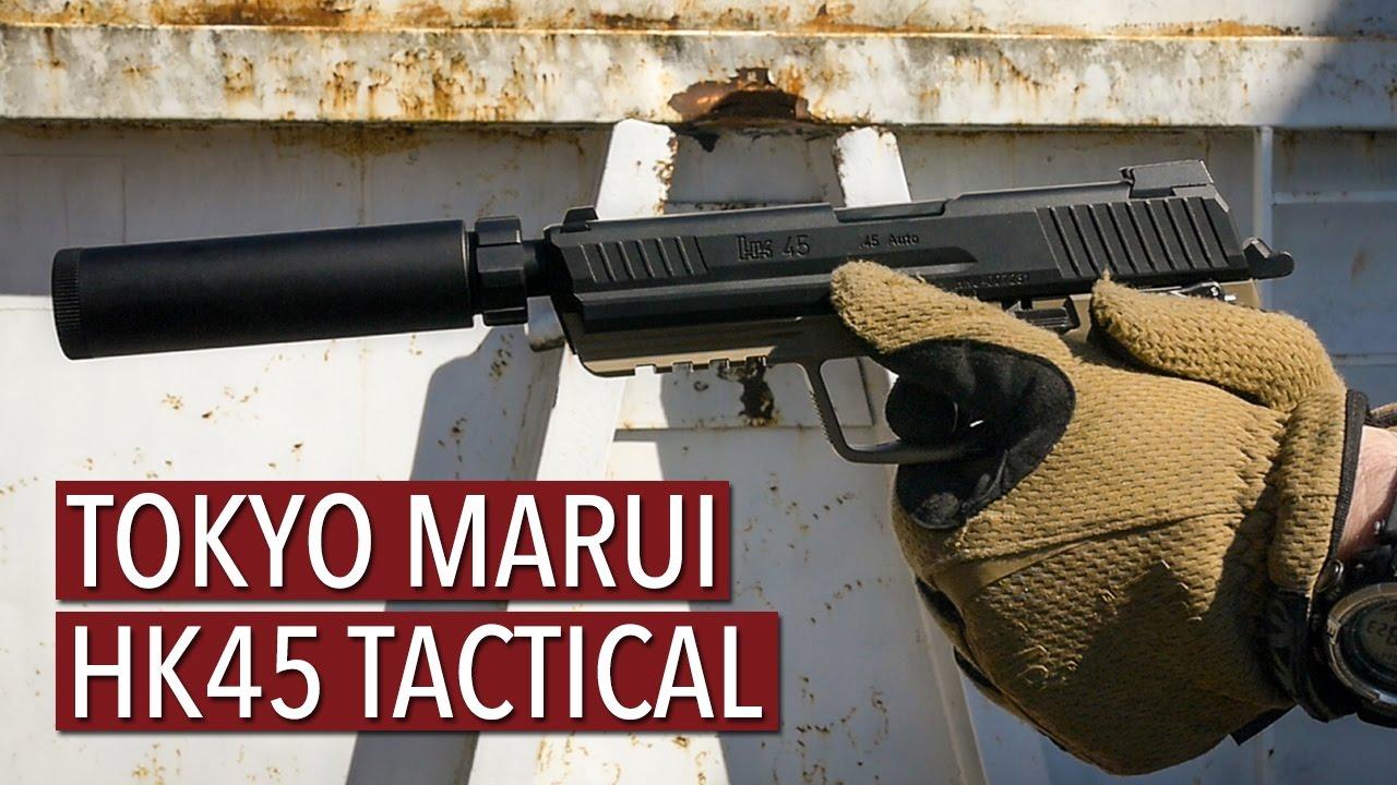 Tokyo Marui HK45 Tactical [Review]
