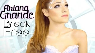 Get the Look | Ariana Grande Break Free Inspired: makeup, hair, & 3 outfit recreations!(THUMBS UP for more Get the Looks.. maybe for Halloween!? Let's see if we can get to 15000 likes?! Subscribe for more Niki and Gabi ♡ Comment of what ..., 2014-09-03T18:24:25.000Z)