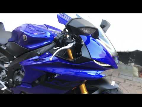 download My First Vlog! Walk around my Brand New 2018 Yamaha YZF-R6, 2017 Onwards Model R6 Race & Track Bike