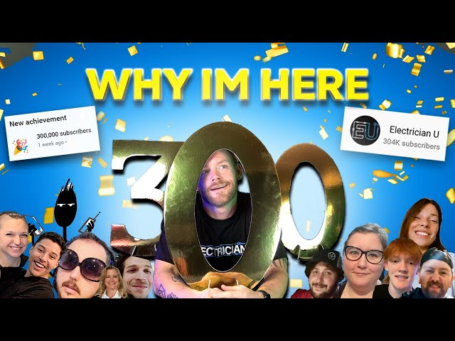 We Made it to 300k Subs!!! THANK YOU! Meet my team 🤘⚡️⚡️