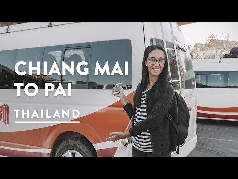 762 CORNERS! CHIANG MAI TO PAI BUS | North Thailand Travel Vlog 120, 2018 | Pai Digital Nomad