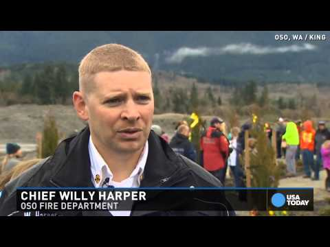 Oso landslide victims honored one year later